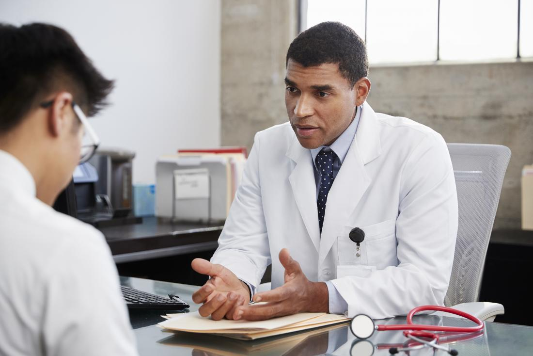 A doctor can explain the benefits and risks of different treatment options.