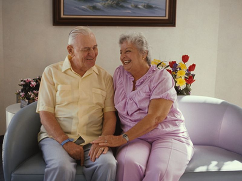 News Picture: What Makes Seniors Feel in Control?