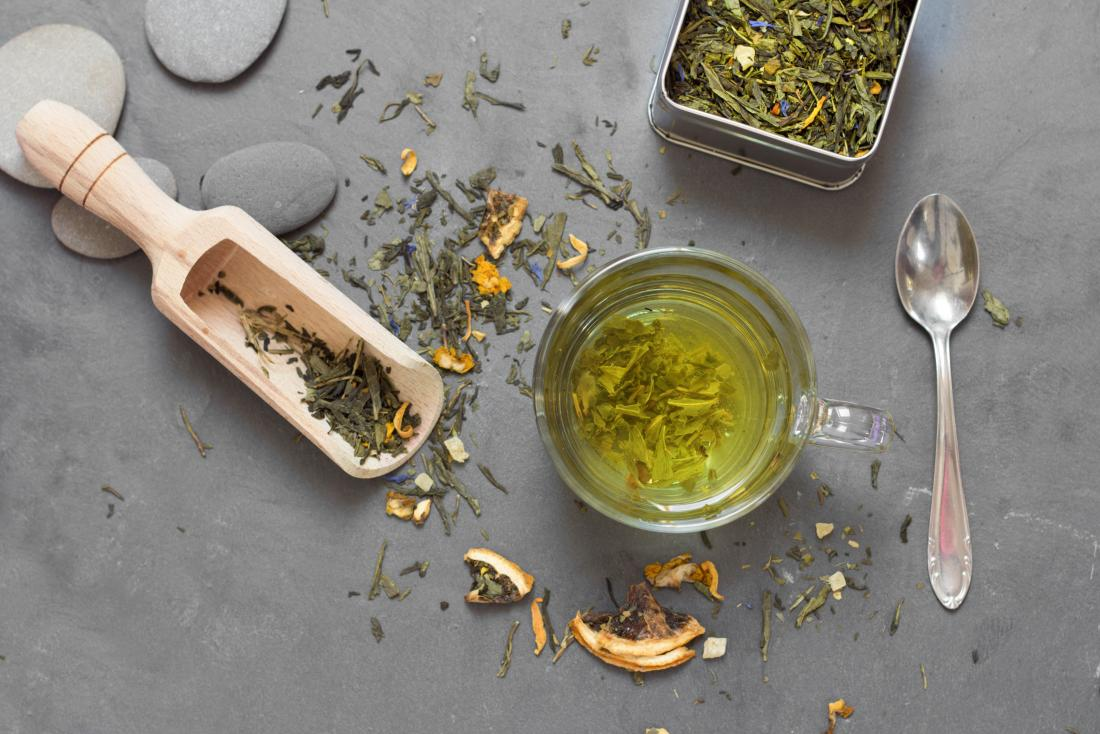 Anti inflammatory herbs green tea