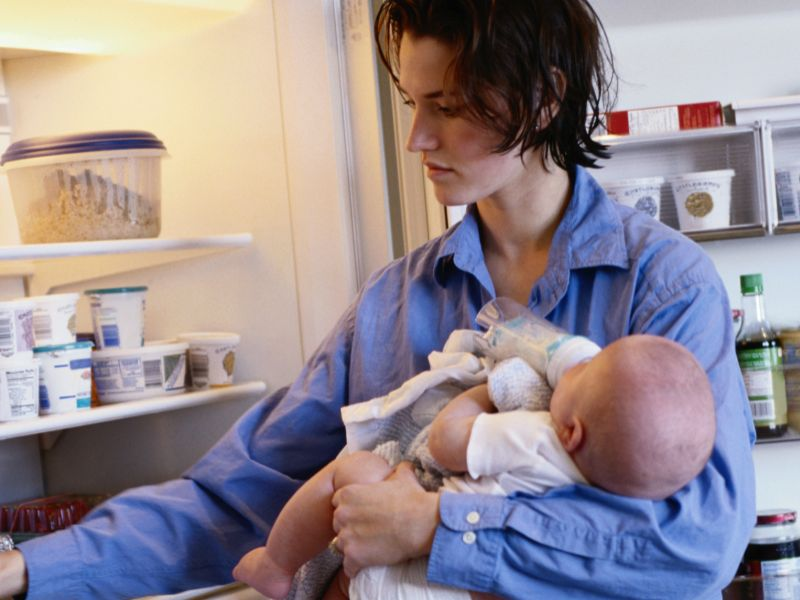 News Picture: 6 Years: How Long New Parents Can Expect to Lose Sleep