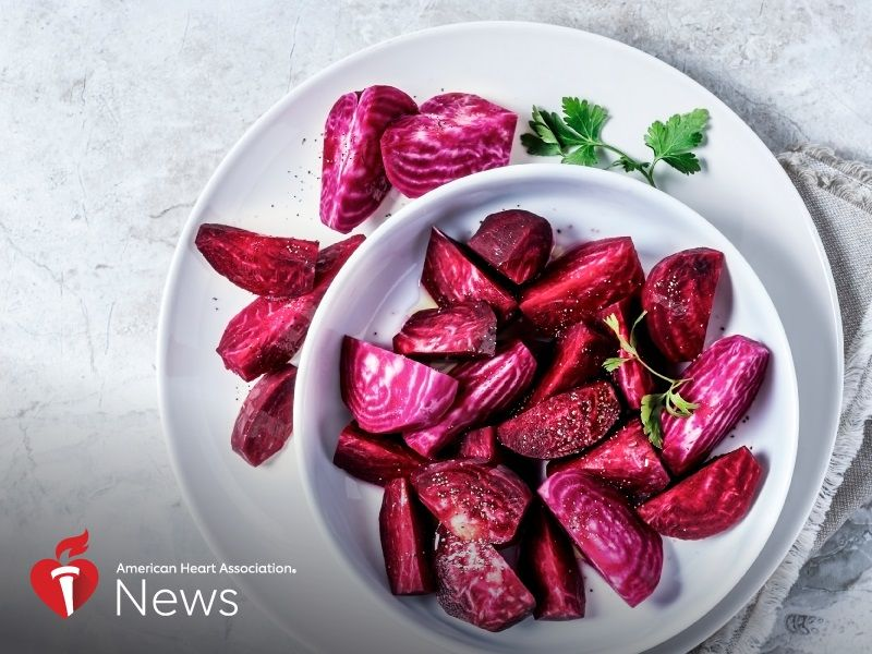 News Picture: AHA News: Could Beetroot Fight Salt-Induced High Blood Pressure?