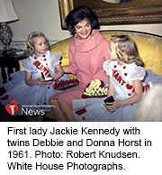 News Picture: AHA News: Kids With Heart Defects Joined Jackie Kennedy, LBJ to Raise Awareness