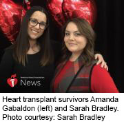News Picture: AHA News: Two Young Moms Bond Over Heart Failure, Transplant Experiences