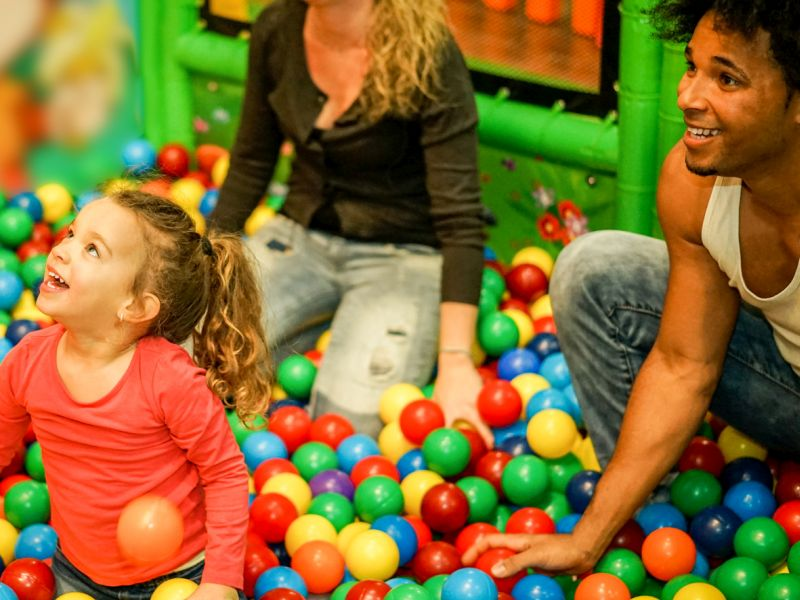News Picture: Are Kids' Ball Pits Jumping With Germs?