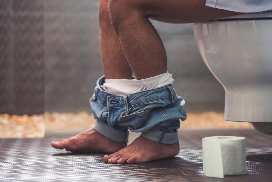 Chronic prostatitis may cause difficulty urinating.
