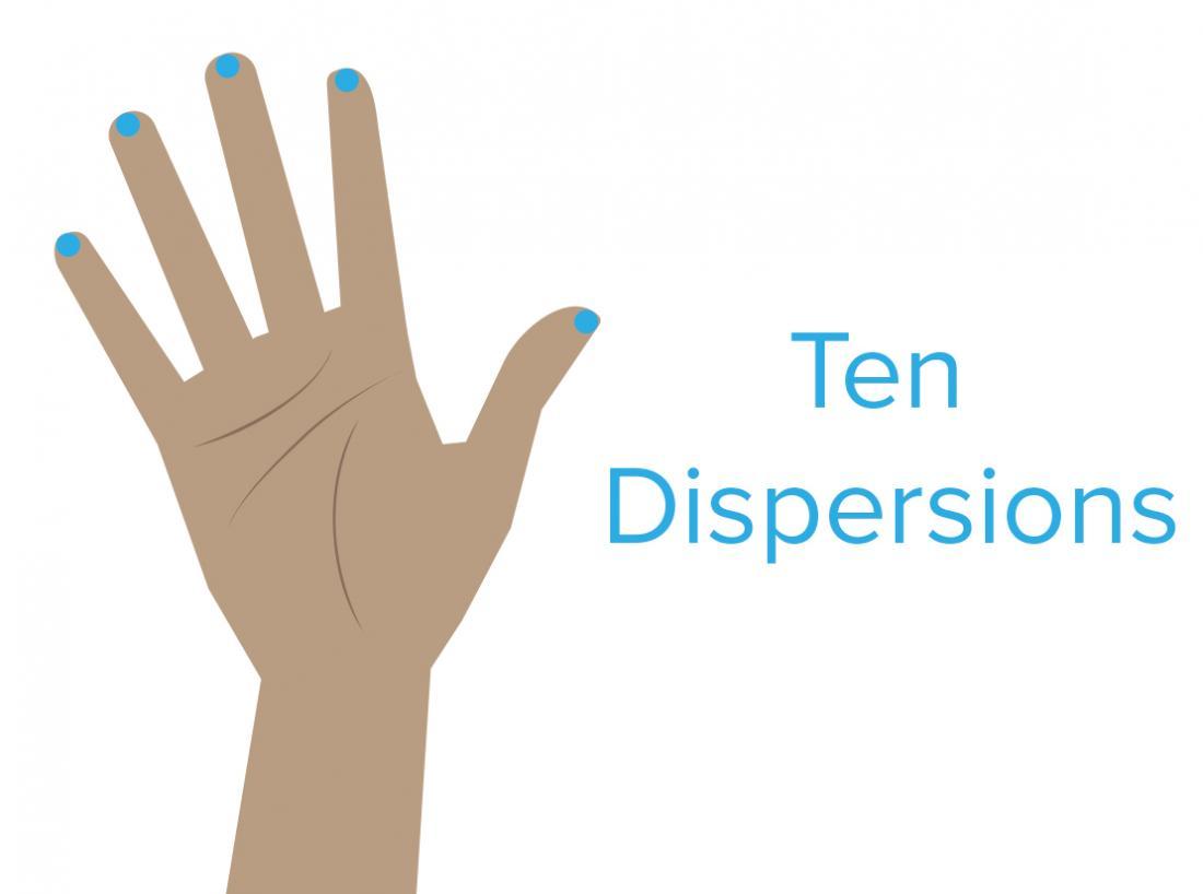 Ten dispersions pressure point