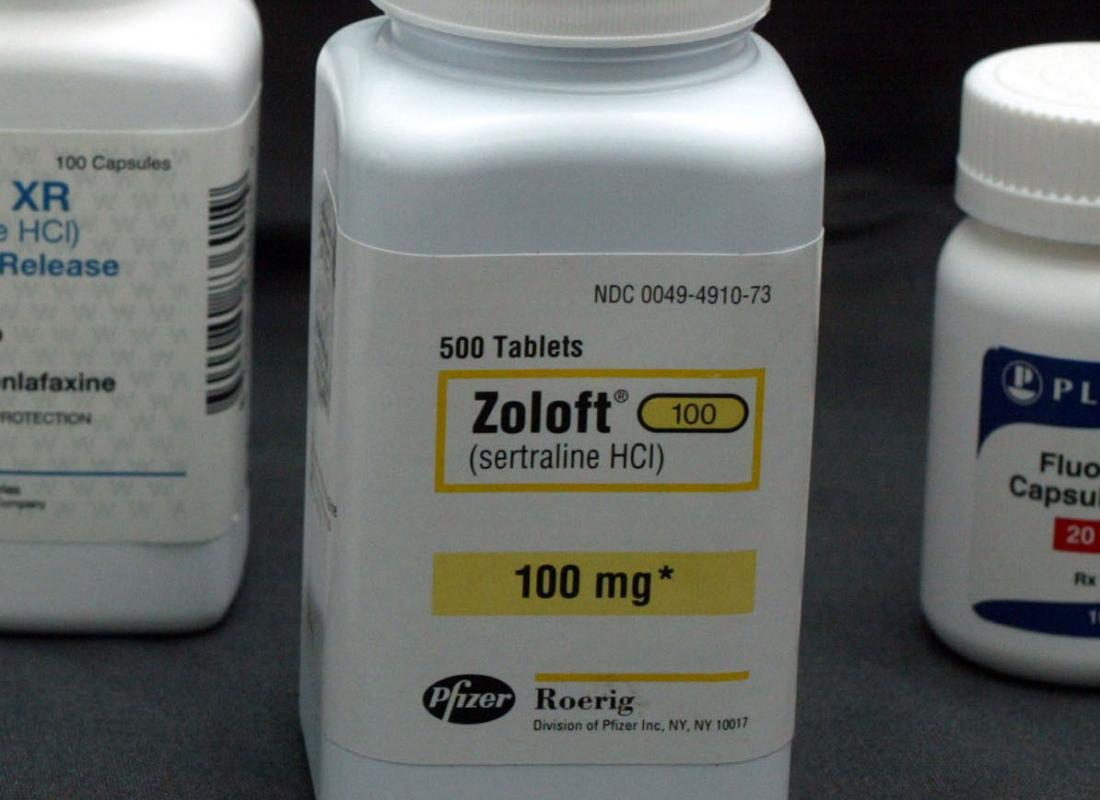 Zoloft in pill bottle for bipolar