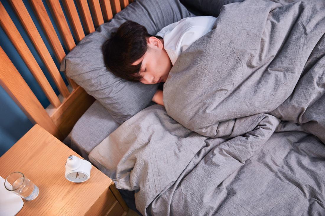 person asleep