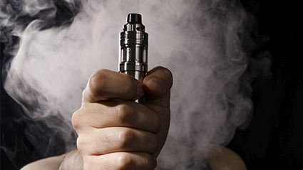 News Picture: Many Parents Think Vaping Around Kids Is Fine