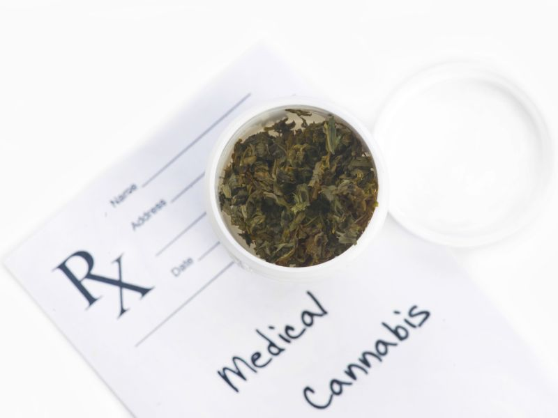 News Picture: Medical Pot: An Elixir for the Elderly?