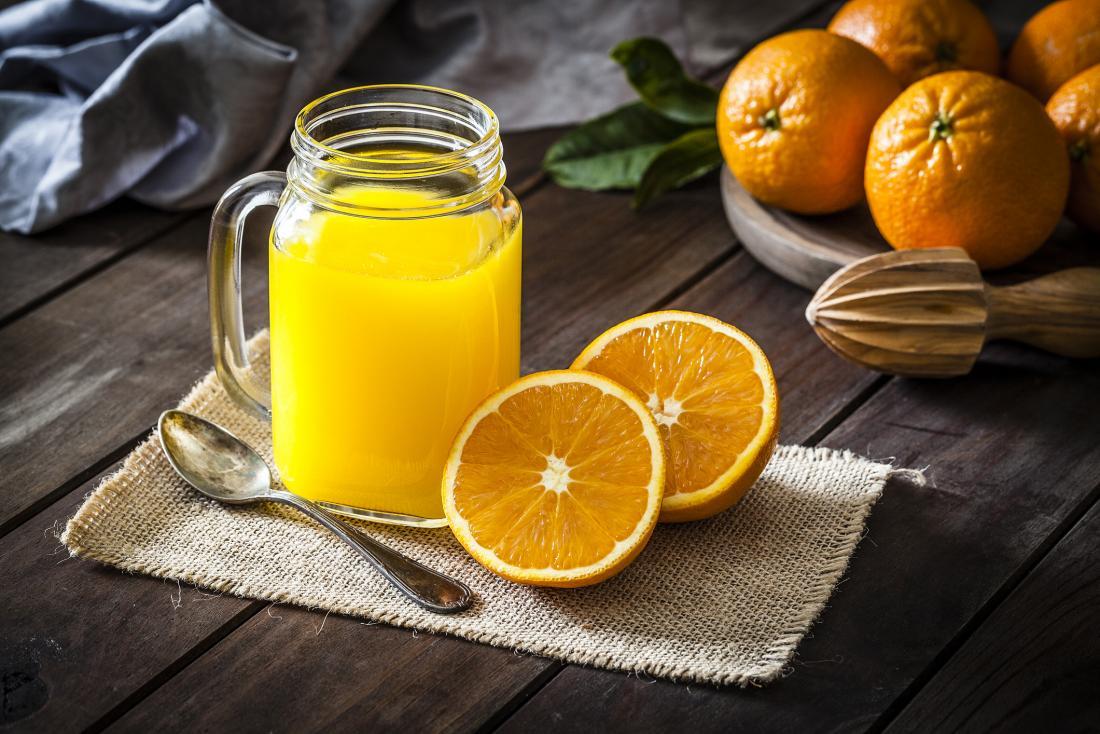 oranges and orange juice are sources of vitamin c