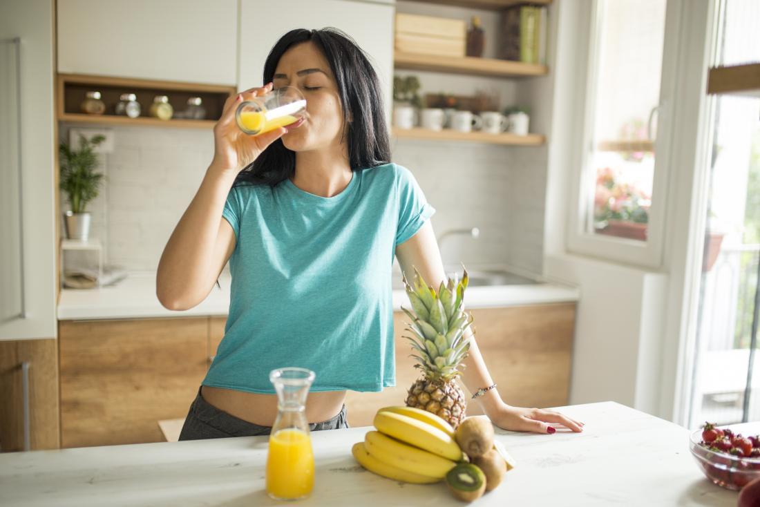 Vitamin d foods orange juice