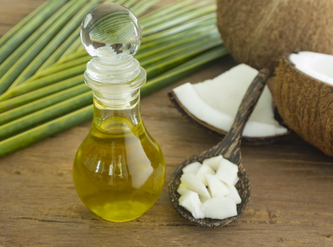 coconut oil which can help with eczema