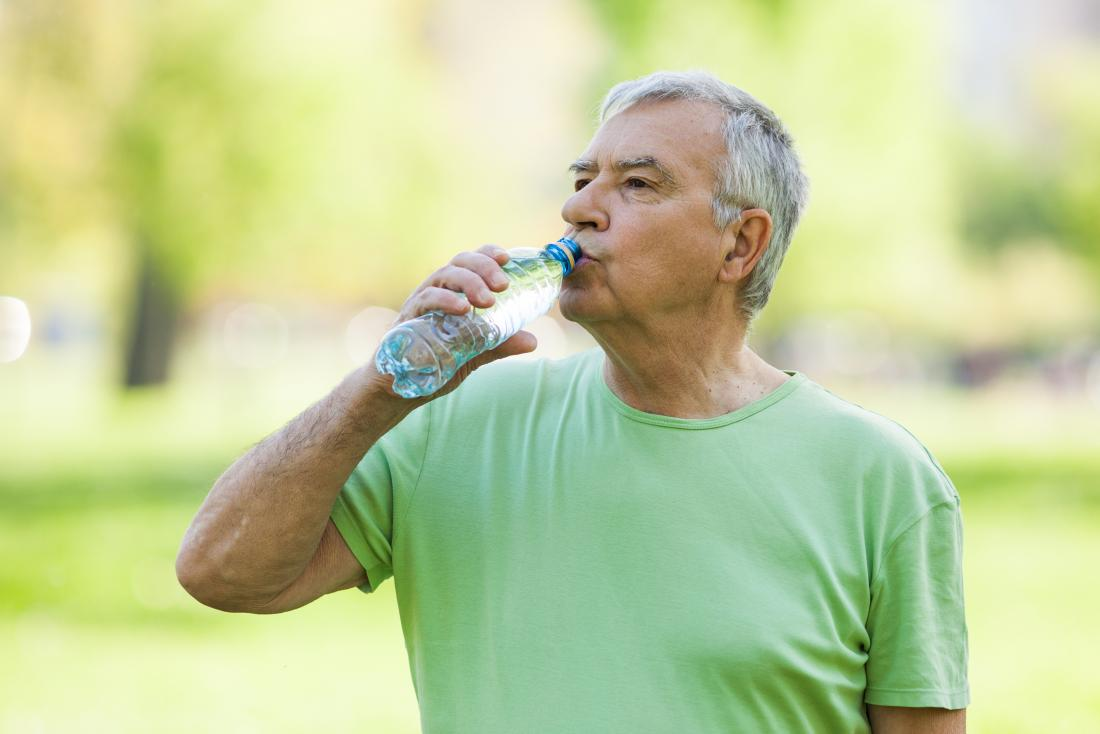 Prostate infection drinking water