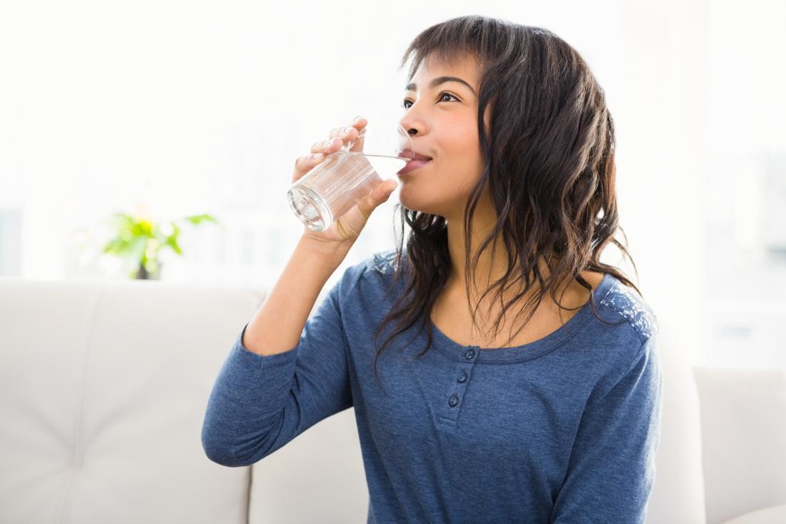 waking up dizzy drinking water