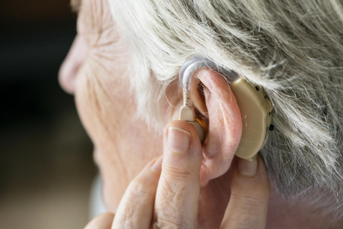 Itchy ears hearing aid