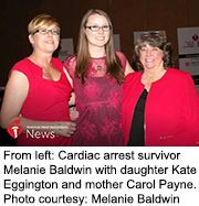 News Picture: AHA News: Woman Almost Declared Dead No Stranger to Heart Trouble