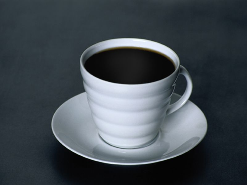 News Picture: Coffee on Your Mind? Even Thinking About It 'Arouses' the Brain
