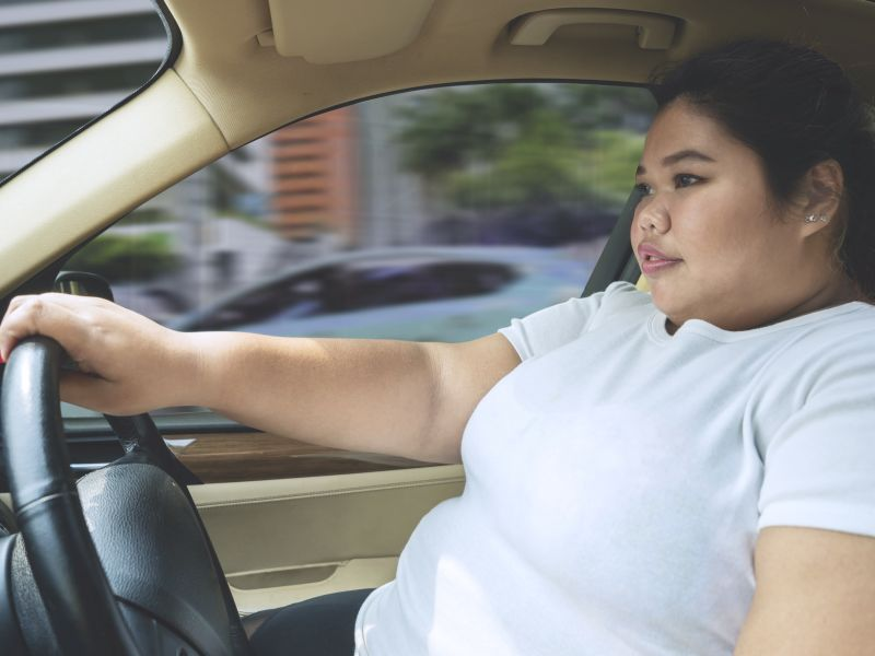 News Picture: For Obese People, Commuting by Car Can Be a Killer: Study