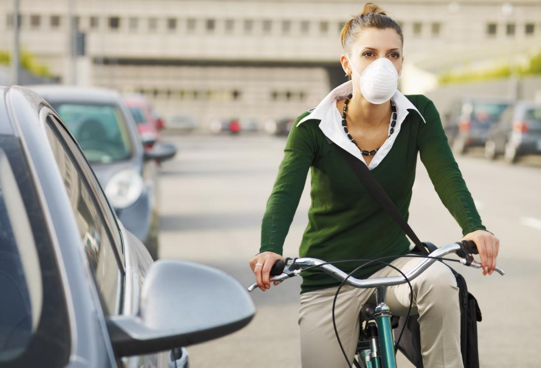Pollution can increase the risk of long-term oxidative stress.