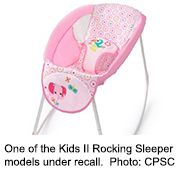 News Picture: Nearly 700,000 Infant Rocking Sleepers Recalled Due to Infant Deaths