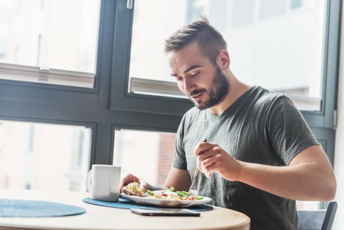 Eating a balanced diet can help boost libido.