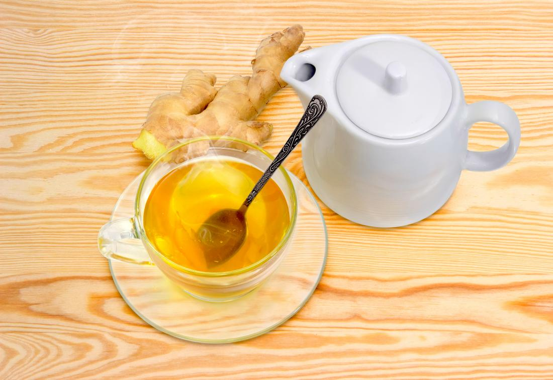Ginger tea which is a part of stage 1 of the gaps diet