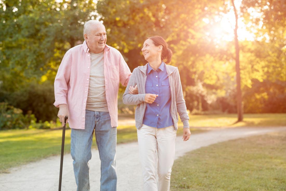 Diabetes stroke walking stick