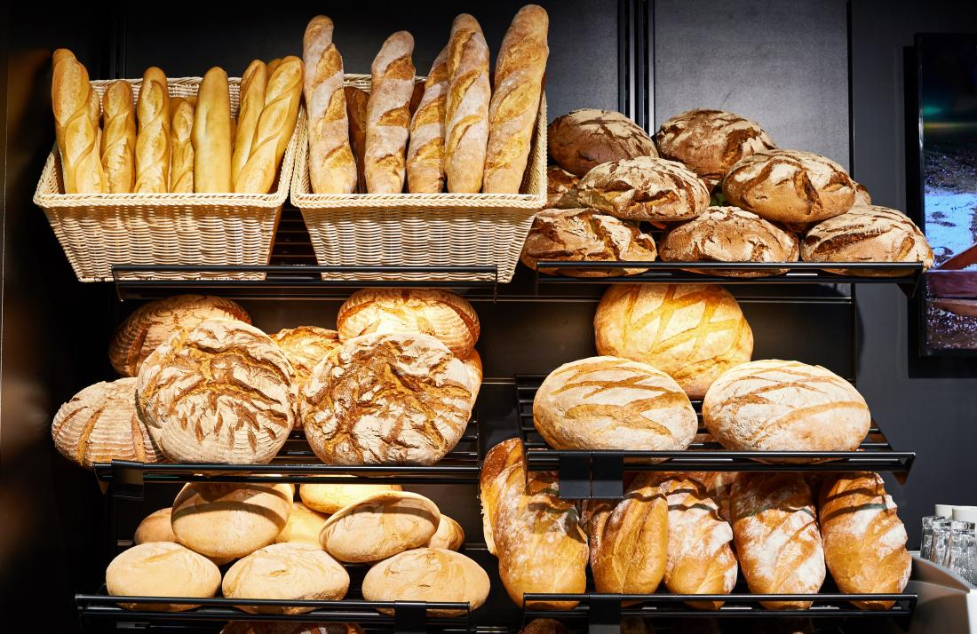 A person with celiac disease should avoid products containing wheat, barley, or rye.