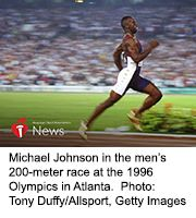 News Picture: AHA News: A Stroke Slowed Olympic Legend Michael Johnson, But F.A.S.T. Response Sped His Recovery