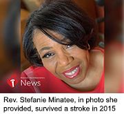 News Picture: AHA News: Stroke Almost Took Gospel Star's Life -- Then Taught Her About Living