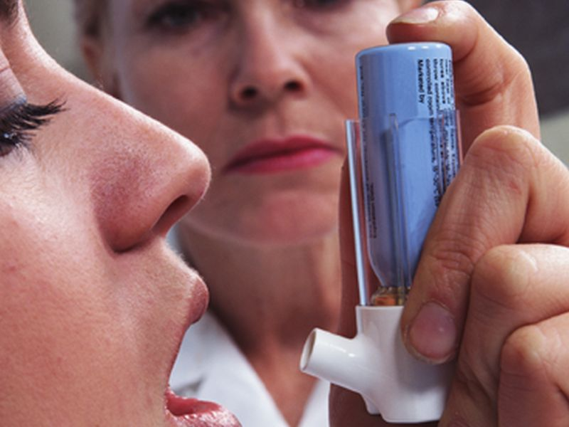 News Picture: For Many With Mild Asthma, Popular Rx May Not Work: Study
