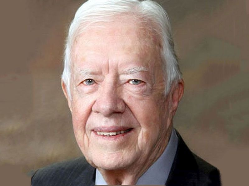 News Picture: Former President Jimmy Carter Breaks Hip, Has Surgery