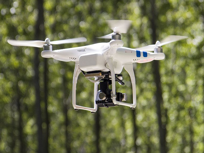 News Picture: In a World First, Drone Delivers Kidney for Transplant