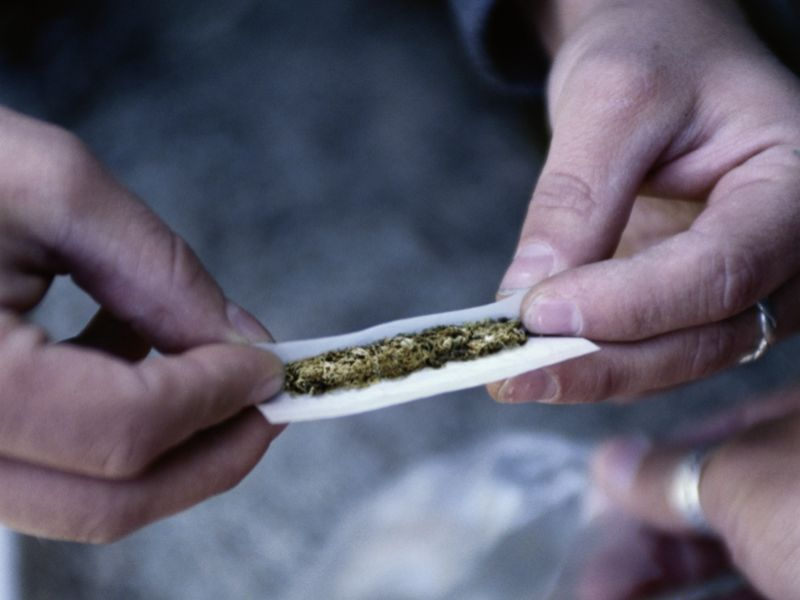 News Picture: Less Pain, More Car Crashes: Legalized Marijuana a Mixed Bag