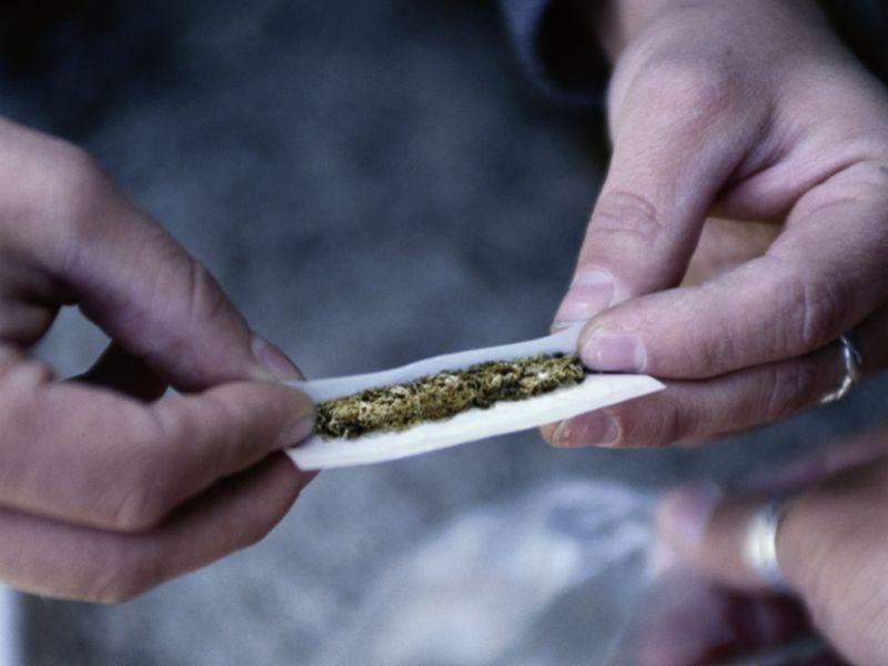 News Picture: Less Pain, More Car Crashes: Legalized Marijuana a Mixed Bag
