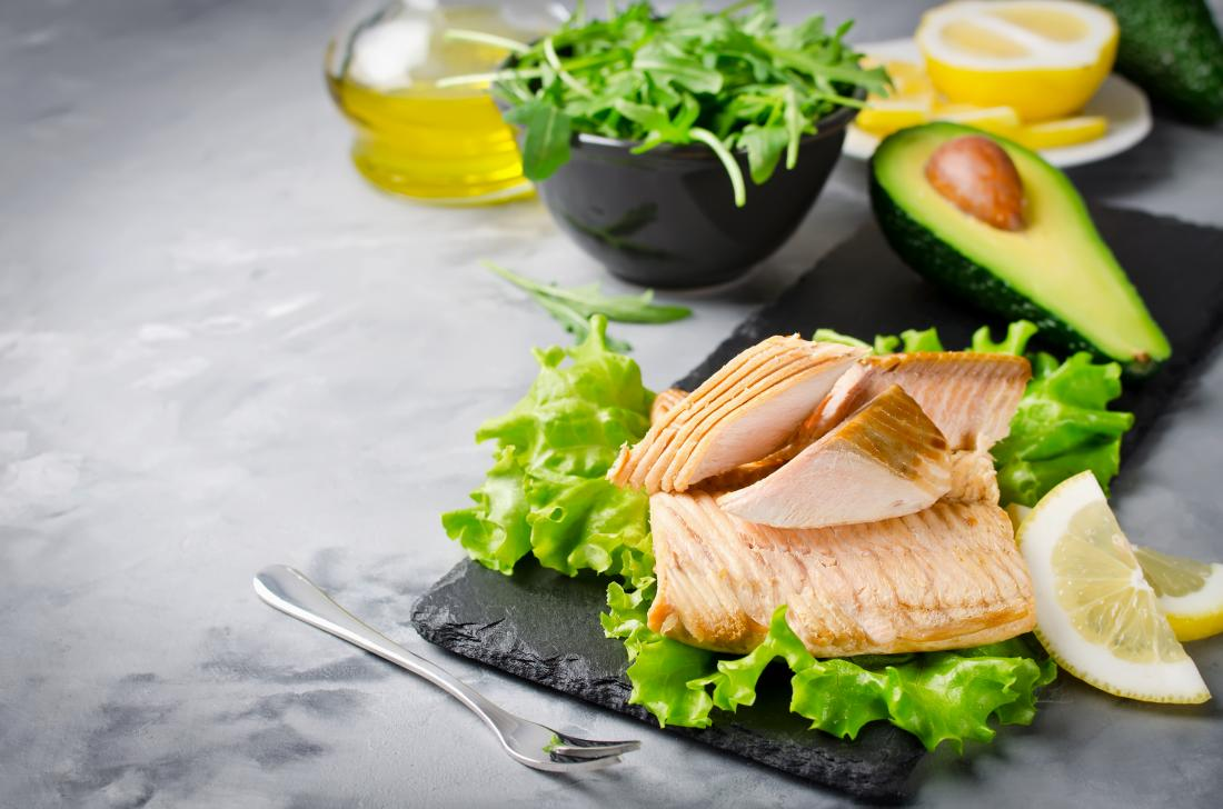 lower cholesterol naturally by eating salmon and avocado