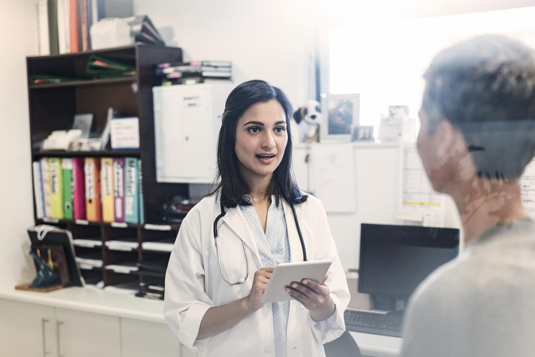 A person can discuss what to expect when taking steroids with a doctor.