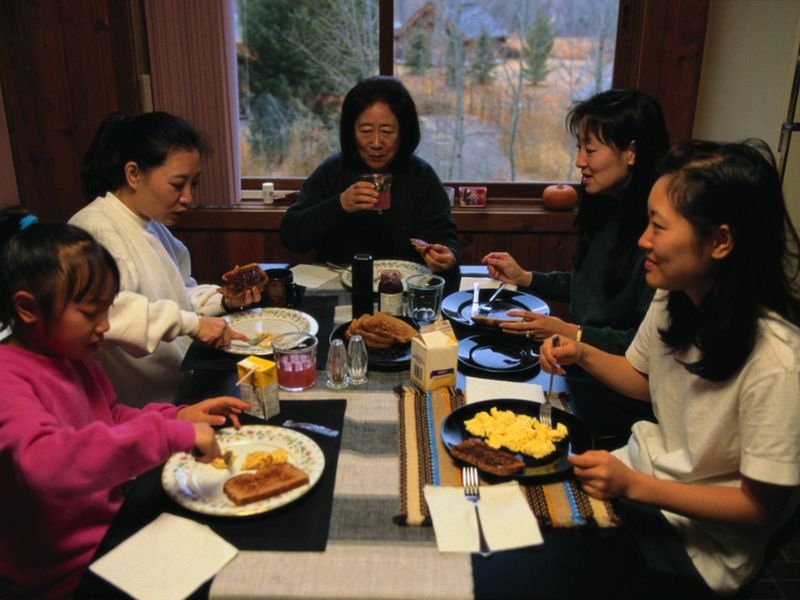 News Picture: Thriving in a Multi-Generational Home