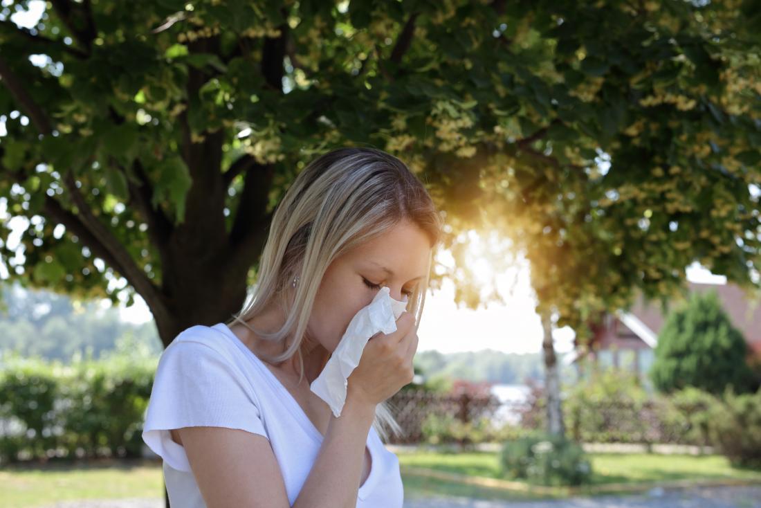 Stinging nettle may help treat seasonal allergies.