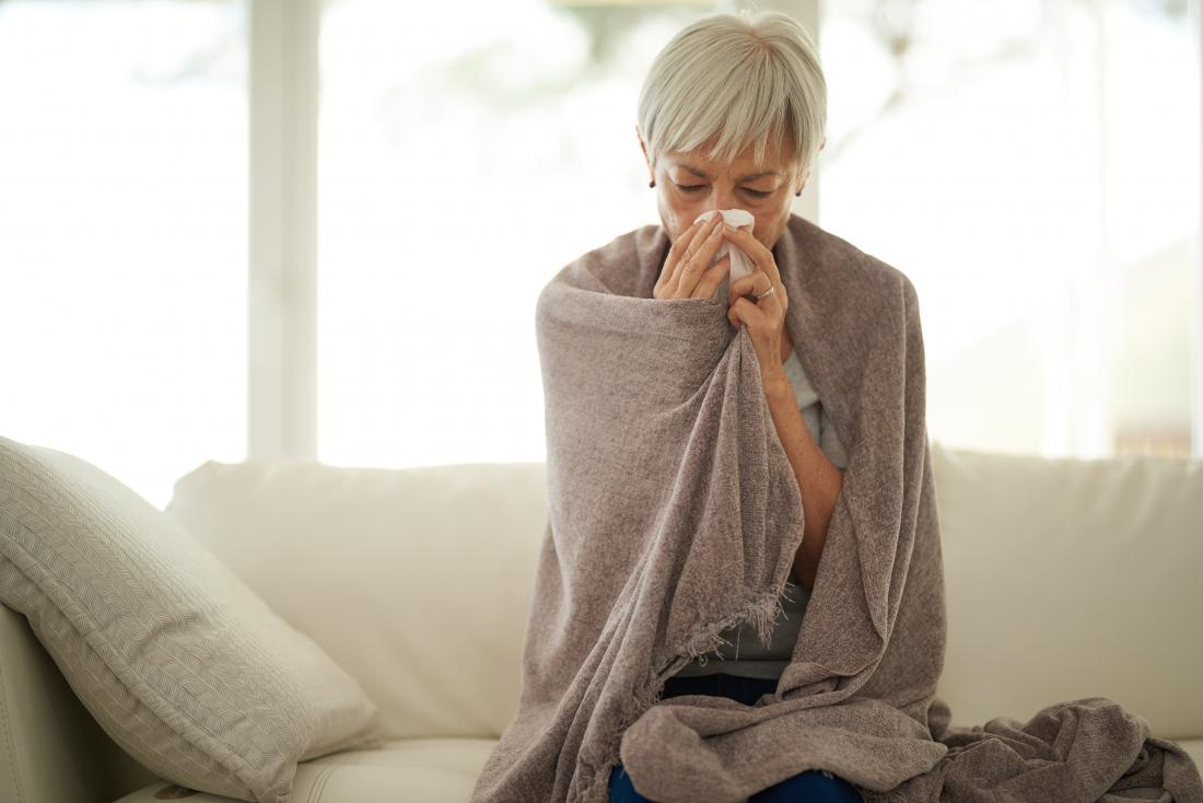 asthma and pneumonia fever and chills