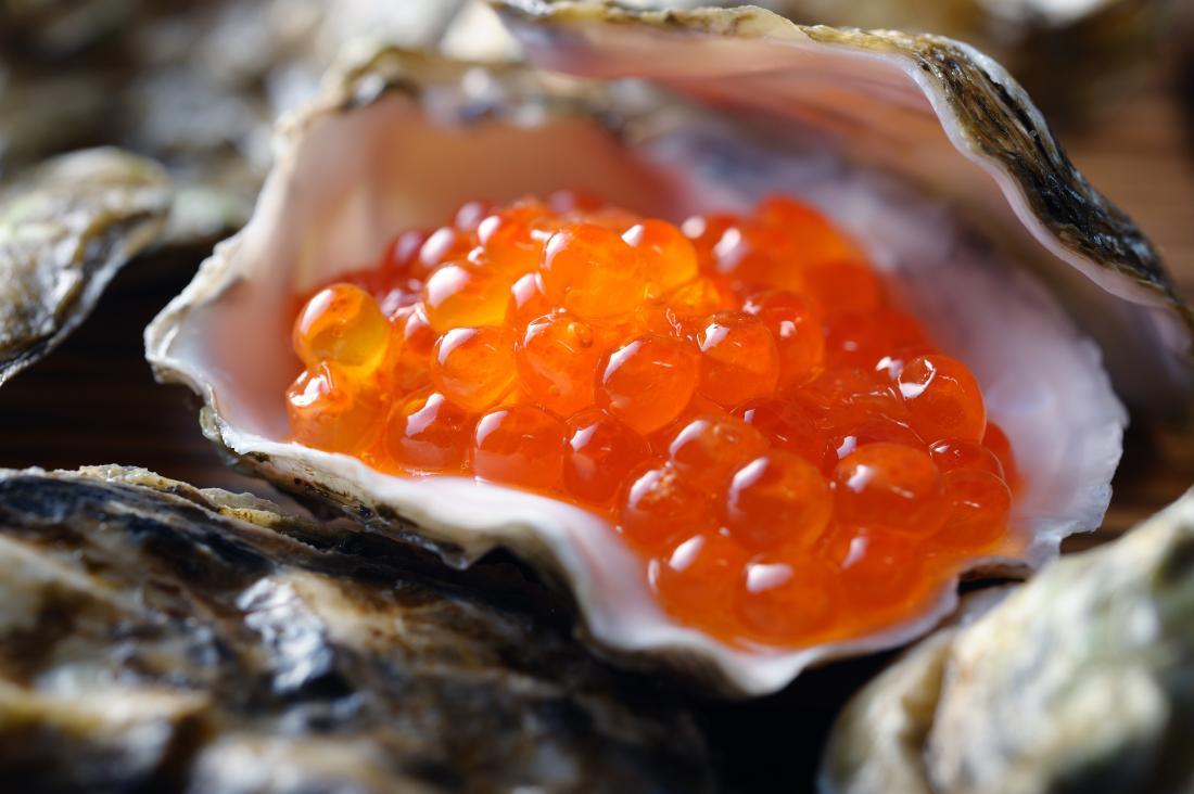 Ikura also known as salmon roe