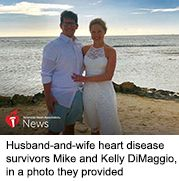 News Picture: AHA News: Couple Knew They Would Face Heart Problems Together -- But Not Like This