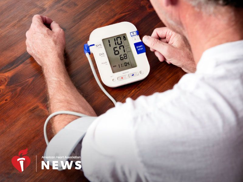 News Picture: AHA News: Half of U.S. Adults Should Monitor Blood Pressure at Home, Study Says