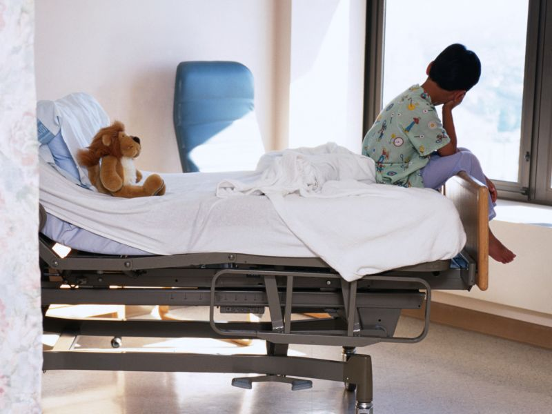 News Picture: Childhood Brain Tumor Survivors Face More Struggles
