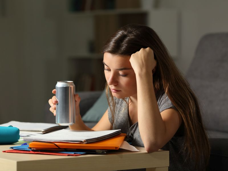 News Picture: Energy Drinks May Take a Toll on the Heart