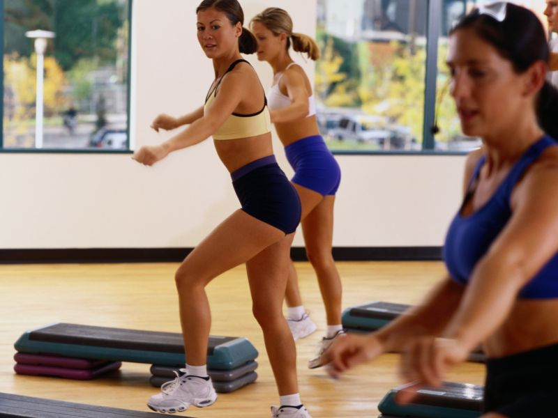 News Picture: Exercise Rates Rising for Urban, Rural Americans: CDC