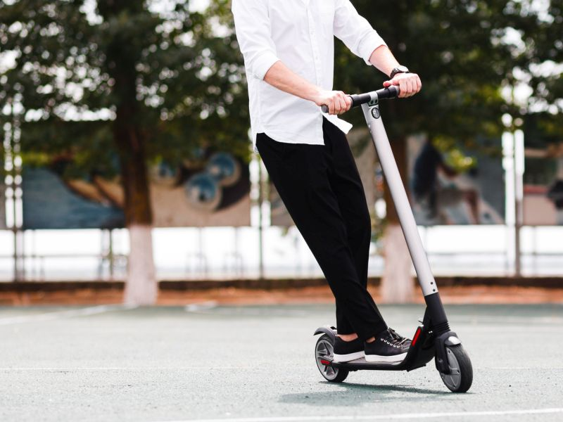 News Picture: Head Injuries Tied to Motorized Scooters Are Rising: Study