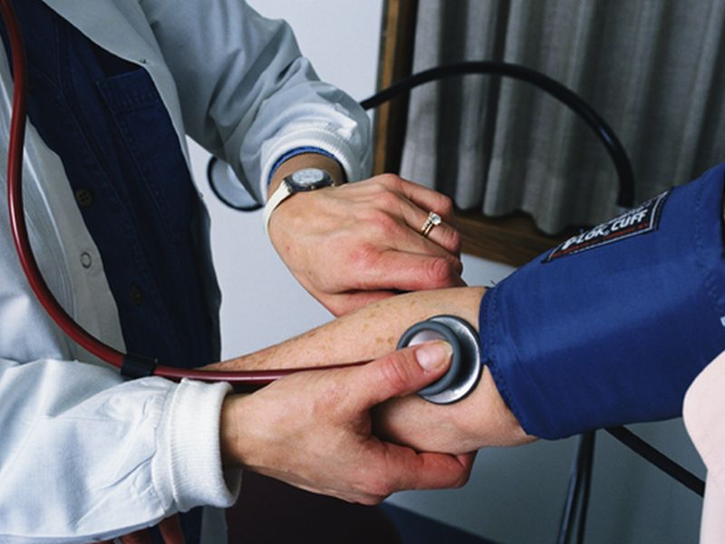 News Picture: High Blood Pressure at Doctor's Office May Be More Dangerous Than Suspected