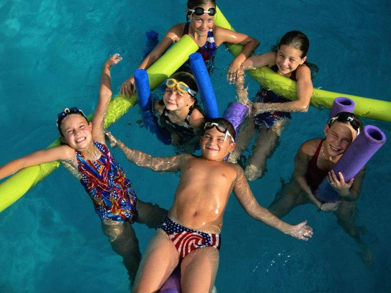 News Picture: Hundreds of Young Kids Drown in Pools Each Year -- Keep Yours Safe